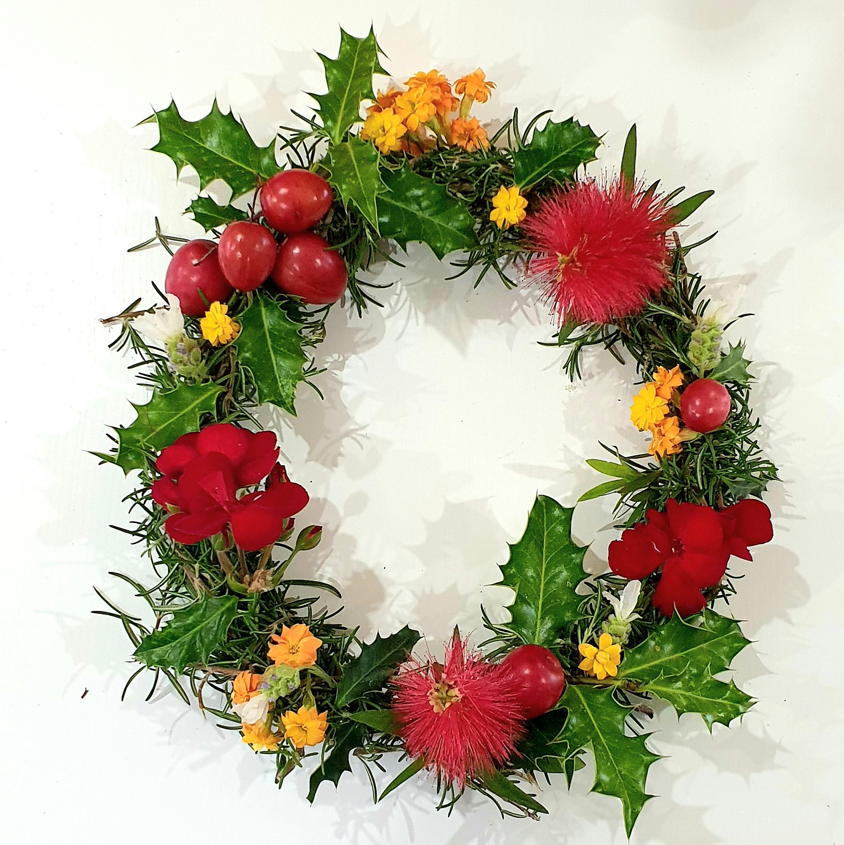 3 : Floral Art: Christmas is Here!
